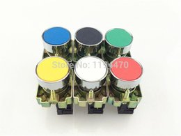 $enCountryForm.capitalKeyWord Canada - 24pcs Lot Mixed Group XB2 BA 6 Colors Self-reset Momentary Flush Pushbutton Flat Push Button Switch Replace Telemecanique