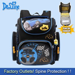 $enCountryForm.capitalKeyWord Canada - 2016 Boys School Bags Cartoon Backpack Blue Car Yellow Plane Children Kids Primary 1 -5 Grade Orthopedic Waterproof Schoolbag