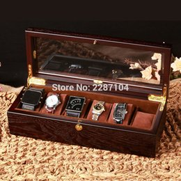 $enCountryForm.capitalKeyWord NZ - Wholesale- 6pc Mini Golden Small Jewelry Chest Display Box Watch Pen Wine Gift Case furniture Makeup L 90 degree Support Spring Hinge