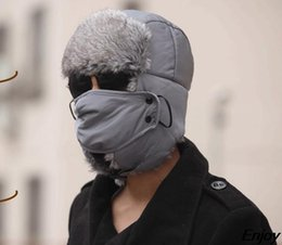 $enCountryForm.capitalKeyWord NZ - Wholesale-2015 new winter warm hats for women balaclava face mask hat veil with ear beanies for men cap balaclava casual winter cap chapeu