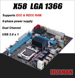 $enCountryForm.capitalKeyWord Canada - Freeshipping For Intel planform desktop motherboard new X58 board LGA 1366 support REG ECC server memory All solid boards x 58 16GB 8GB