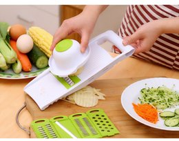 fruits dicer cutter Canada - 5PCS Set Vegetable Dicer Slicer Vegetable Slicer Fruits Cutter Carrot Dicer Cooking Tool Assistant Kitchen Tool