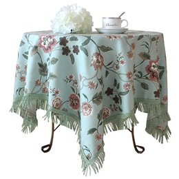 Little Flower Fashion Of Luxury Rustic Coffee Table Dining Table Cloth  Round Table Cloth Size Table Cloth Round Tablecloth