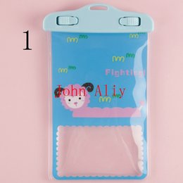 universal 5.5 inch phone case Canada - Freeshippng Waterproof Cartoon Bag Case Cover Lock Protecor High Quality Universal Travel Swimming For Under 5.5 inch Cell Phone