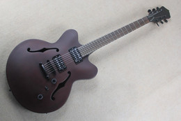ElEctric guitars brands online shopping - The New Brand Facctory Customized Semi hollow Electric Guitar with Maple Body and the Mahogany Neck
