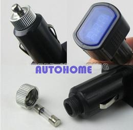 $enCountryForm.capitalKeyWord Canada - 5 X New 12V 24V Digital Mini LED Car Vehicle System Voltmeter Voltage Gauge Volt Meter Tester order<$18no track