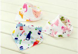 $enCountryForm.capitalKeyWord NZ - Baby Cotton kerchief infant Saliva Bibs burp cloths Pinafore Apron Girls Pinny BB13