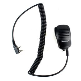 Baofeng Speaker Microphone Canada - New Mini Handheld Microphone Mic PTT Speaker for Kenwood for WOUXUN for PUXING for HYT for BAOFENG Radios J6205A Alishow