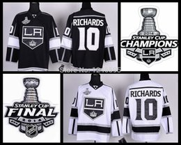 ... Los Angeles LA Kings Jersey 10 Mike Richards Jersey 2014 Stanley Cup  Champions . ... 07138bf27