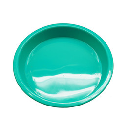$enCountryForm.capitalKeyWord UK - Non-stick Silicone Dish Wax Container Deep Pan Oil Round Tray Dab Tool Holder Food Grade 9 inches