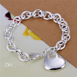 $enCountryForm.capitalKeyWord NZ - Mix 4 Style 925 silver links chain fit heart-shaped and dragonfly pendant women bracelet gift