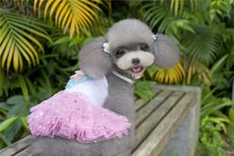 $enCountryForm.capitalKeyWord Canada - B14 pet Dog Summer Tulle bubble skirt dress - little star & heart design Summer Pet dog Clothing sweet summer dress Dog Apparel
