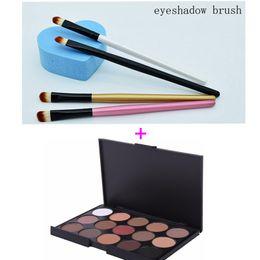 $enCountryForm.capitalKeyWord UK - no logo 9 color Eye shadow Palette, 2 type Smoky makeup include all popular color with eyeshadow brush