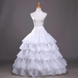 $enCountryForm.capitalKeyWord NZ - Hot Selling In stock Four Hoops Five Layers A-Line Petticoats Slip Bridal Crinoline For Ball Gowns Quinceanera Wedding Prom Dresses CPA210