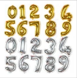 "$enCountryForm.capitalKeyWord Canada - 16"" Gold Silver Letters Foil Balloons 0-9 Numbers Helium Mylar Balloon Wedding Christmas Birthday kids show Party Decoration E466L"