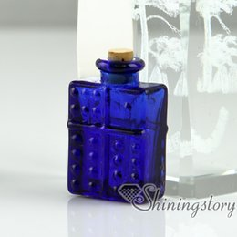 Discount small cremation urns - small glass vials for necklaces keepsake cremation urns jewelry ashes pet urns jewelry ashes