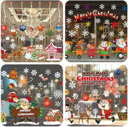 $enCountryForm.capitalKeyWord Canada - Christmas window stickers decorations removable decal store shop window galss stickers background home wall stickers Christmas ornaments