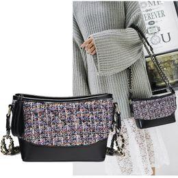 $enCountryForm.capitalKeyWord Canada - New women chain Knitting single shouler messenger handbag lady fashion evening casual bag black purple white color no299