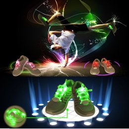 $enCountryForm.capitalKeyWord Canada - LED Shoe Flashing shoelace light up Disco Party Fun Glow Laces Shoes Halloween Christmas gift Free DHL FedEx