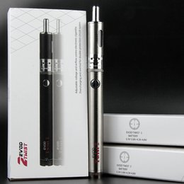 vape pen evod box Canada - electronic cigarettes evod emow kit ecigs 1600mah evod twist 2 battery and airflow control tanks vaporizer atomizer vape pen gift box kits