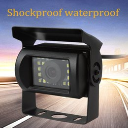 Wholesale Waterproof And Anti Shock LED Rear View Night Vision Truck Bus Van Car Monitor Backup Camera CAL_00L