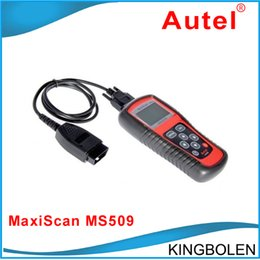 Maxiscan Ms online shopping - DHL code reader Autel Maxiscan ms509 code reader scanner MS with high quality