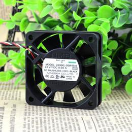 $enCountryForm.capitalKeyWord Canada - Free Shipping NMB 2406KL-05W-B49 6015 60mm DC 24V 0.09A 6CM cm alarm inverter fan