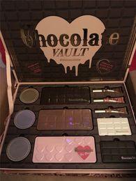 $enCountryForm.capitalKeyWord Canada - HOT Faced Limited Edition Chocolate Vault eyeshadow foundation primer makeup set for 2017 Christmas gift DHL shipping
