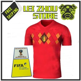 78b584843 ... promo code for 2017 belgium football shirt de bruyne jersey 2018 home  red lukaku fellaini e