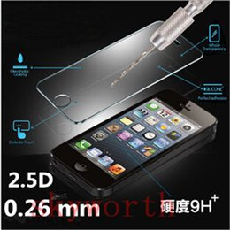 $enCountryForm.capitalKeyWord Canada - 0.26mm Premium Tempered Glass Screen Protector Guard For iPhone 5 5S 5SE 6 6+ Plus Samsung galaxy S5 S4 S6 S7 Edge