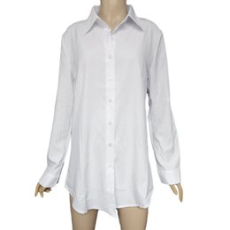 Discount Loose White Button Down Shirt | 2017 Loose White Button ...