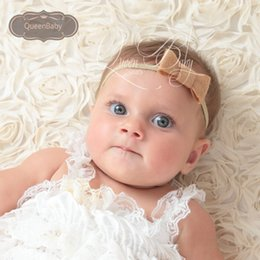 Wholesale Baby Felt Bows Headband Handmade felt bow hair bows kids hairband Queenbaby Trail Order