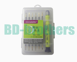 t2 tablet Canada - 12 in 1 Kit T2 T4 T5 T6, 0.8 1.2Pentalobe, 1.5 2.0 Phillips 1.5 2.0Slotted Y Screwdriver for Tablet PC Laptop Cell Phone Repair 20sets lot.