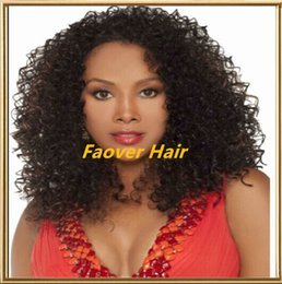 $enCountryForm.capitalKeyWord Canada - Promotion! kinky curly 1#,1b,2#,4#,Natural Color Brazilian Virgin Hair 130% density full Lace wig lace front wig with baby hair