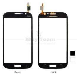 touch screen samsung galaxy grand neo NZ - Wholesale-For Samsung Galaxy Grand Neo Plus Duos i9060 i9062 Touch Screen Panel Glass Digitizer Connector Replacement Parts + 4 in 1 Tools