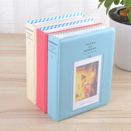 64 Taschen Album Hülle für Foto FujiFilm Instax Mini Filmgröße, 11 cm * 14,2 cm * 3,3 cm, Neues CutePolaroid Mini-Album