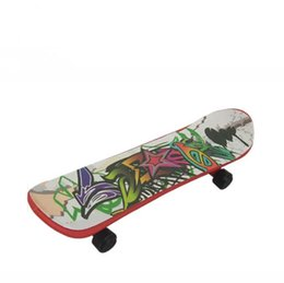 Chinese  Fingerboard Multicolor Funny Finger Skateboard Toys Learning Tools mini Skateboard Children Novelty Toys manufacturers