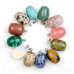 Necklaces Pendants Australia - 2016 Natural Stone jewelry pendants Round Balls pendants multicolour Stone pendants quartz crystal agate fit necklaces for necklace