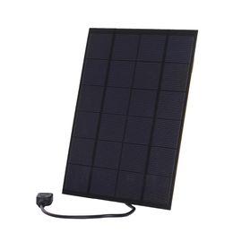 Wholesale solar panels 5W online shopping - 2Pcs W V USB Solar Cell Panel with Regulator Polycrystalline Encapsulated Solar Cell Panel for Phone Power Bank USB Device