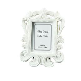Фейса оптом(белый,черный) барокко фоторамка свадьба место карты держатель обручальное сувениры подарки партии аксессуаров украшения поставки