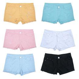 Womens Ripped Denim Shorts Suppliers   Best Womens Ripped Denim ...