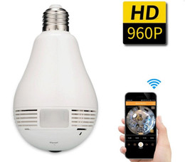 $enCountryForm.capitalKeyWord Canada - 360 Degree Fisheye Panoramic WiFi P2P Network IP Camera Bulb Light Network CCTV Camera Home Security System 960P
