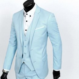 $enCountryForm.capitalKeyWord NZ - New masculino 2017 new men wedding suit, suit to work, do manual work is delicate, decent, and randomly divided into two parts, suit men's s