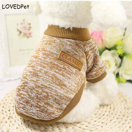 Clothes For Chihuahua Dogs Canada - Warm Pet Coats Chihuahua Dog Clothes Jacket For Small Dog Vest Sweater Shirts Yorkie Teddy Dobermann Autumn Winter Pet Clothing