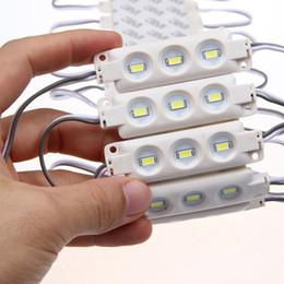 1.5W 3 Leds SMD 5730 Led Módulo Inyección Plástico ABS Impermeable IP66 Blanco Blanco cálido Azul Verde Retroiluminación 12V led luz 1000 en venta