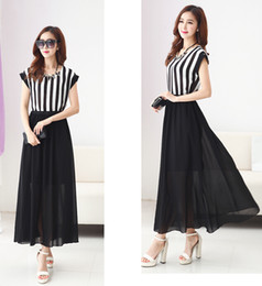 8 Photos Midi chiffon dress online shopping - Summer new tide han edition  dress show big yards long 422b9ffa9609