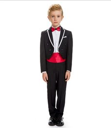 $enCountryForm.capitalKeyWord UK - 2018 children cuhk boy flower girl dress costumes tuxedo suits formal party small suit 2 pieces (jacket+pants+tie)