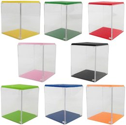 Toy Display Cases Canada - Display Box for LOZ diamond blocks models &building toys display case educational enlighten blocks for children gifts