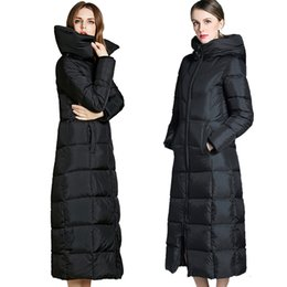 3a8c4bfd658 Lengthen women winter down coat Winterjacke parka over knee thick loose warm  plus size canada down jacket 90% white duck down coats woman