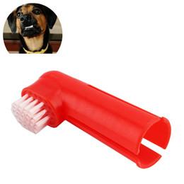$enCountryForm.capitalKeyWord Canada - Hot Dog Cat Finger Toothbrush Set Pet Dental Care Toothbrush Massage Brush Teeth Care Dog Cat Cleaning Supplies